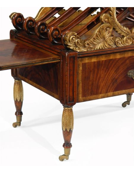 Decorative Accessories Home Accessories Mahogany Carved Canterbury