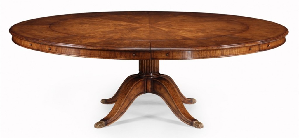 High end dining room furniture walnut dining table for High dining table