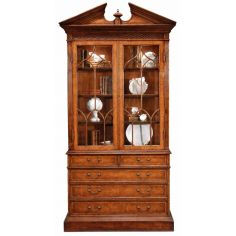 Antique China Display Cabinet-74