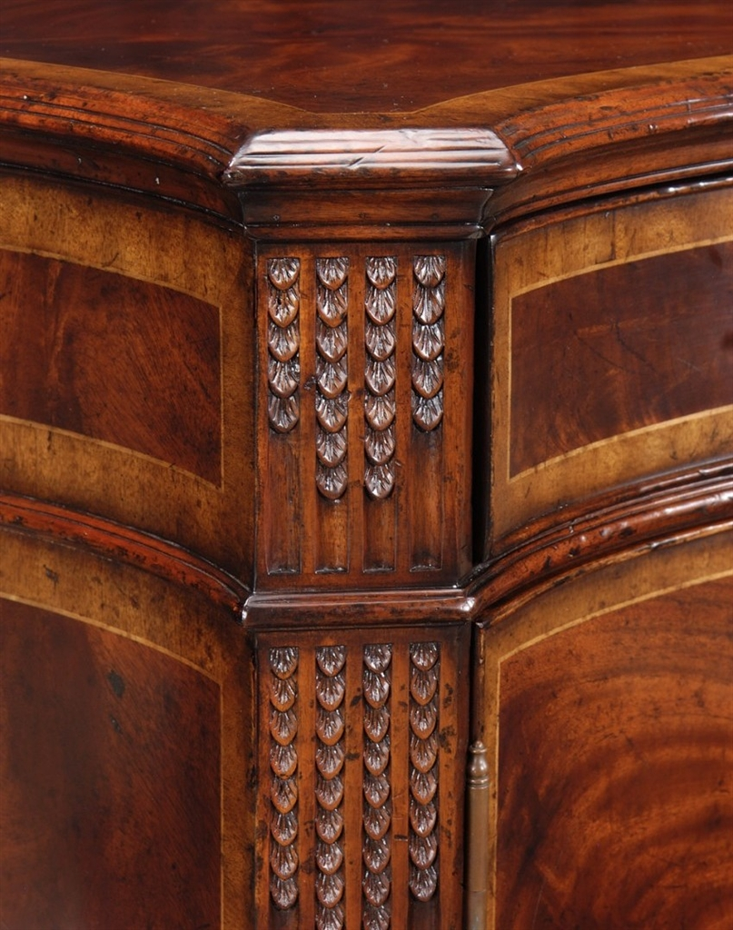 chest of drawers mahogany sideboard with fine hand made hardware an. Black Bedroom Furniture Sets. Home Design Ideas