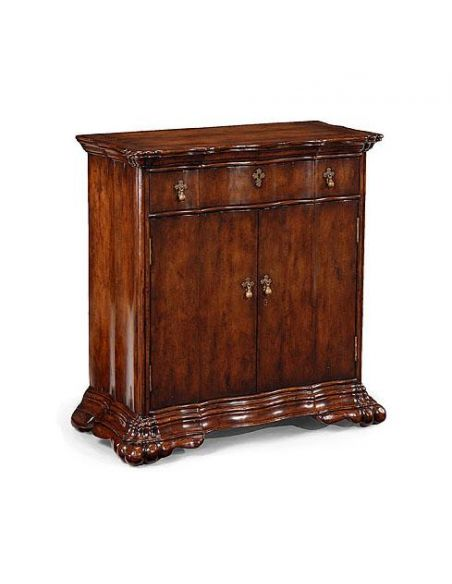 Square & Rectangular Side Tables Luxury Furniture Walnut Night Stand