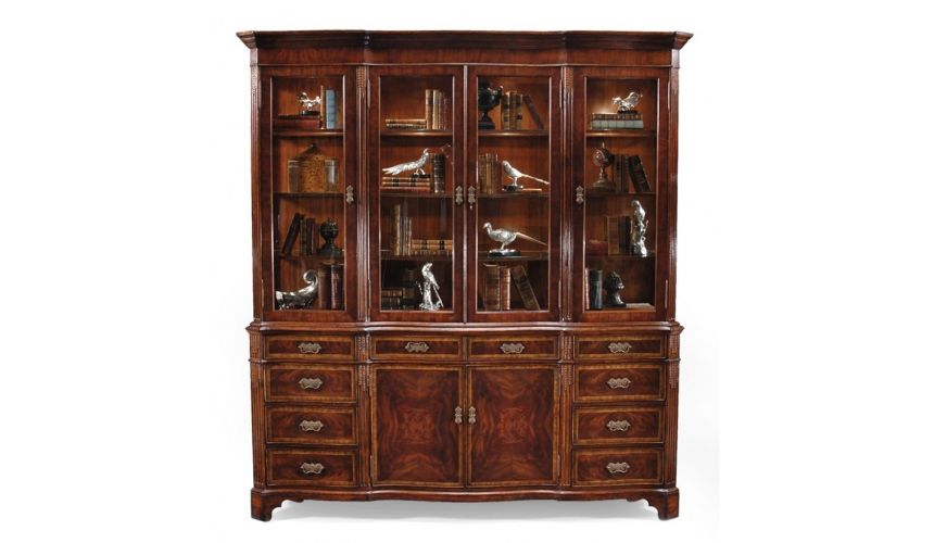 Breakfronts & China Cabinets Display Cabinets & Armoires Mahogany China Cabinet