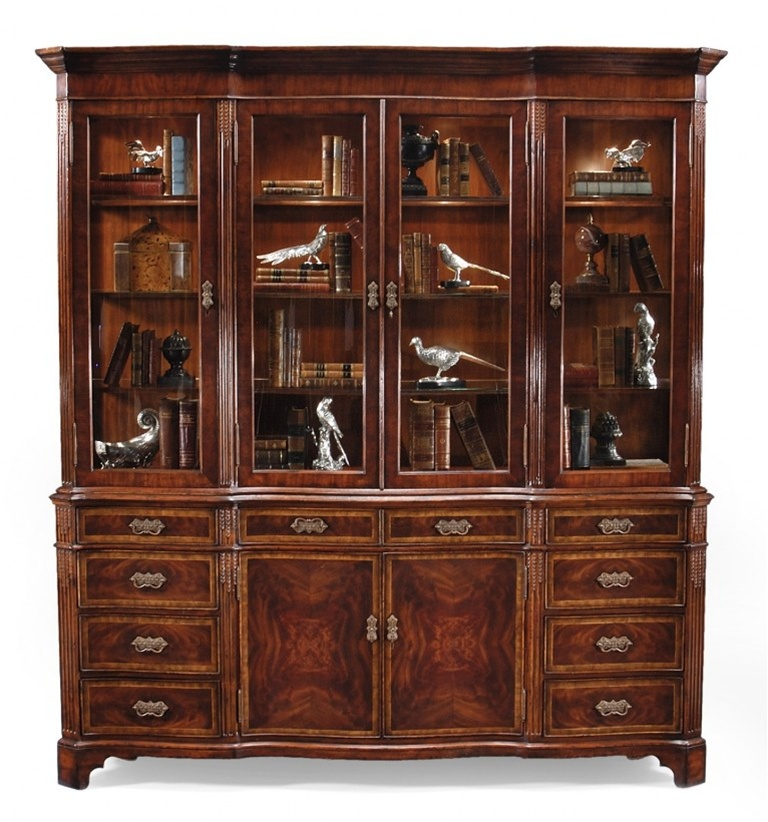 Display Cabinets amp Armoires Mahogany China Cabinet With