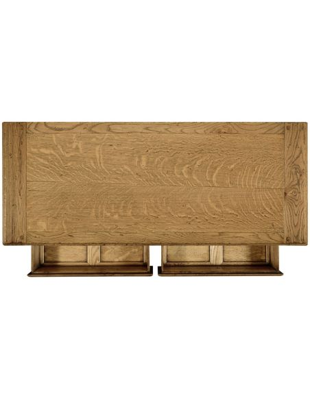 Square & Rectangular Side Tables Small Light oak console table
