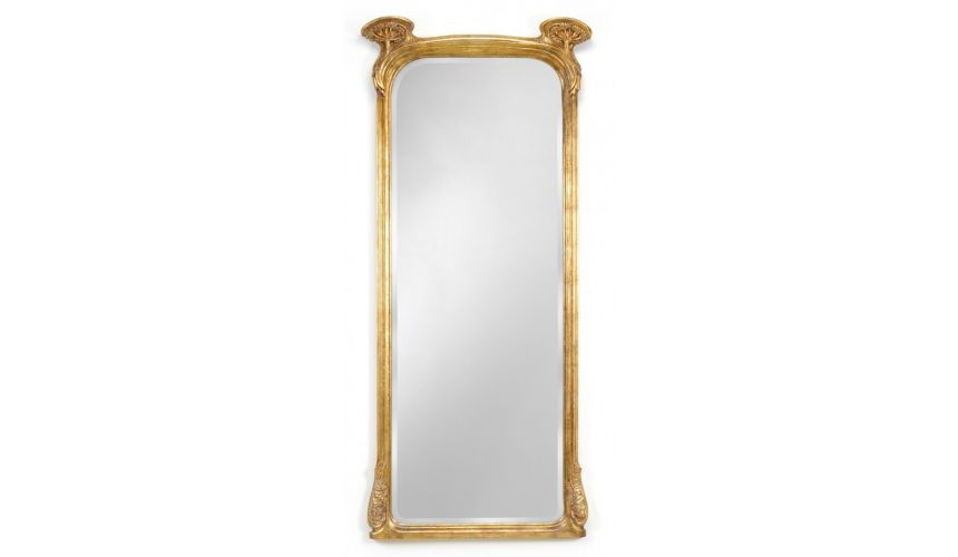 Foyer and Center Tables Full Length Art Nouveau Mirror-82