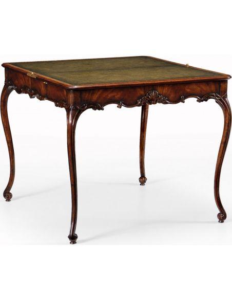 George I style Mahogany Card Table-16