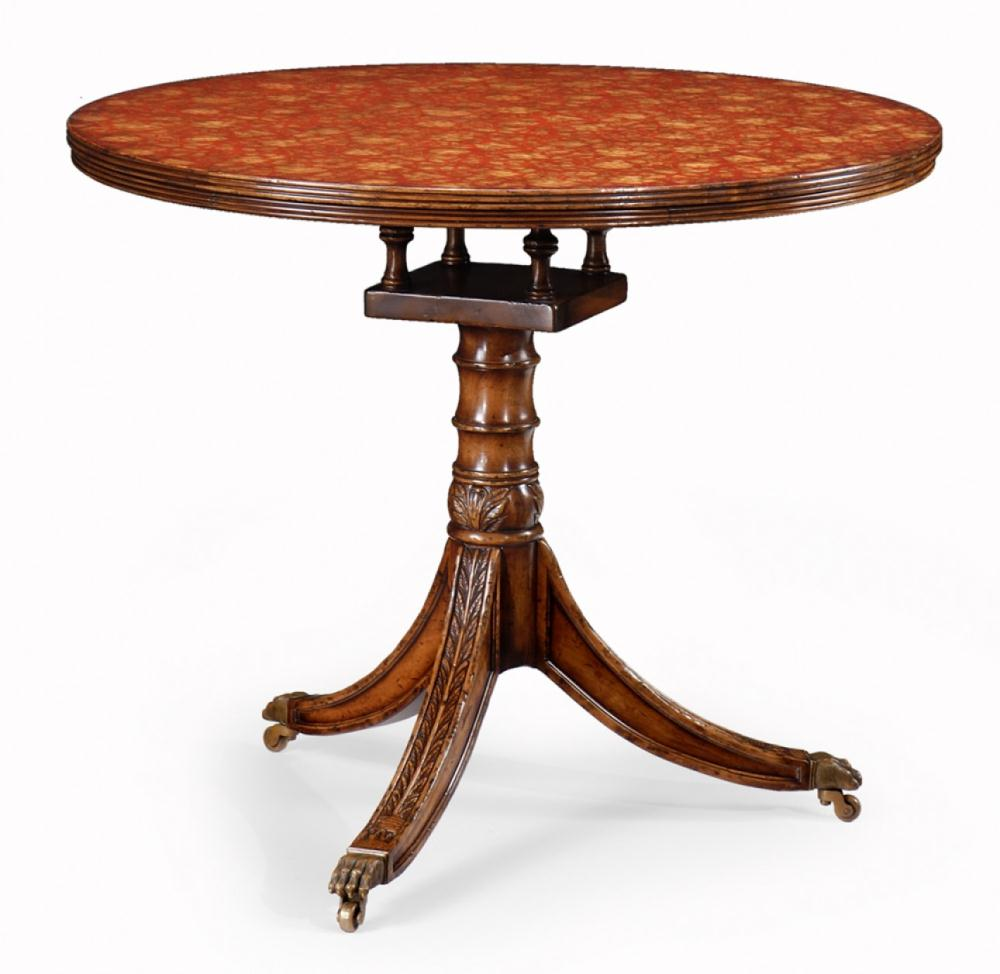 High quality furniture padestal table bernadette for Quality furniture