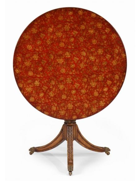Round & Oval Side Tables High Quality Furniture Padestal Table