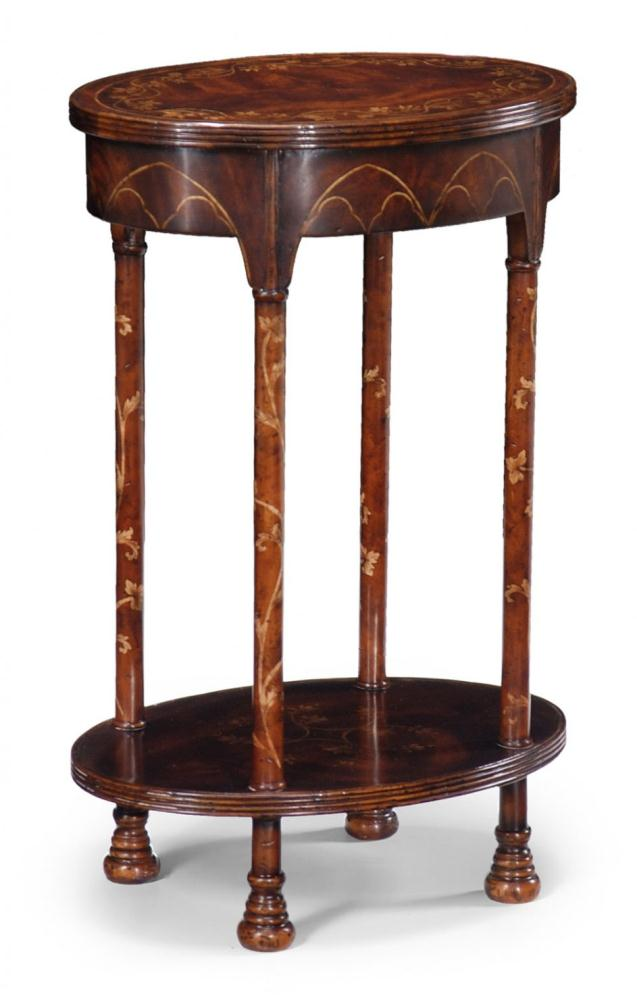 High Quality Furniture Oval Lamp Table Bernadette Livingston Furniture Provides The Finest In