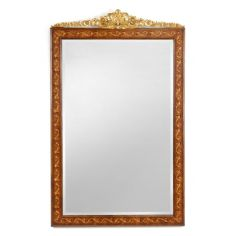 Marquetry Mirror Frame Home Accessories