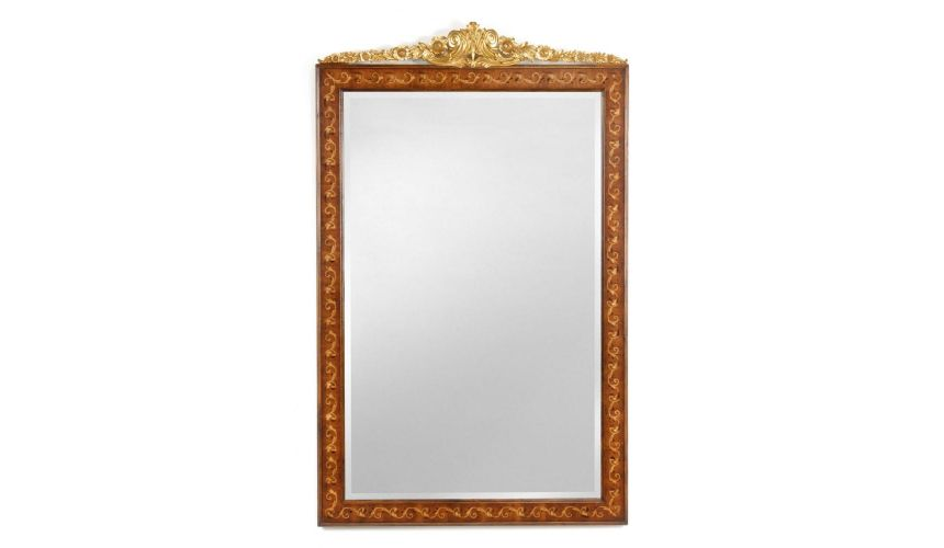 Decorative Accessories Marquetry Mirror Frame Home Accessories