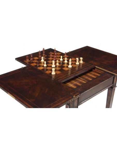 Game Card Tables & Game Chairs Extending Game & Card Table