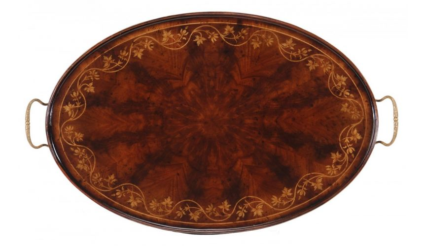 Dining Tables Home Accessories Mahogany Tray