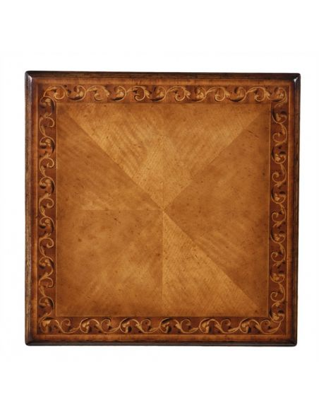 Square & Rectangular Side Tables 593288 gilded gold side lamp table