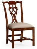 High End Dinning Side Chair in Mahogany