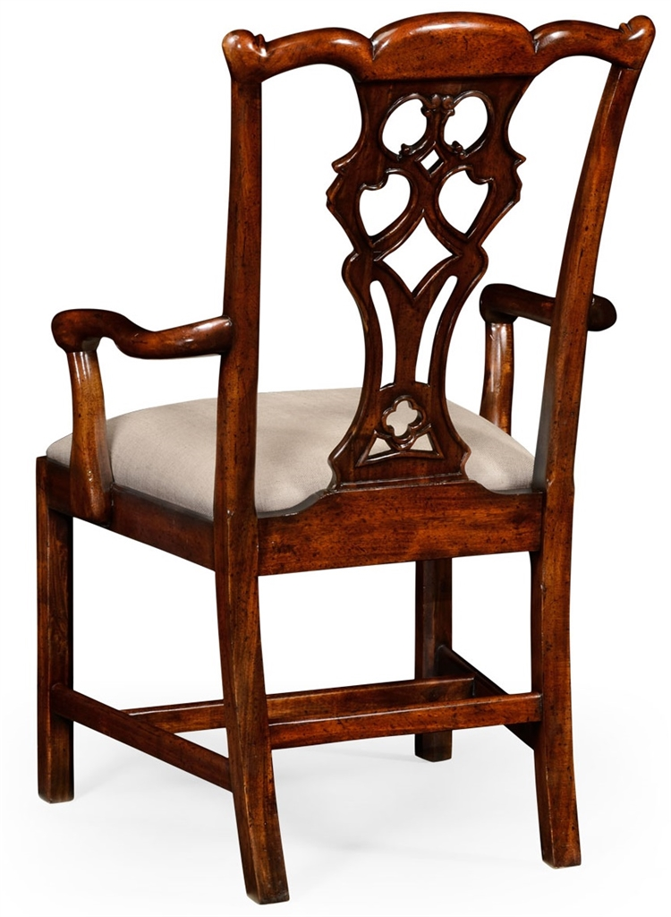 High end dinning arm chair in mahogany for High end restaurant furniture