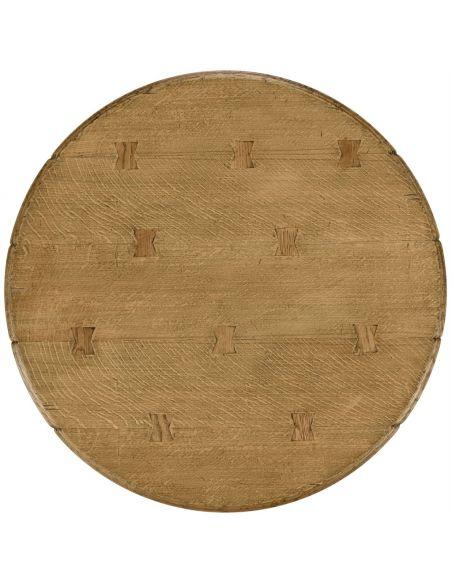 Home Bar Furniture Natural oak bar table