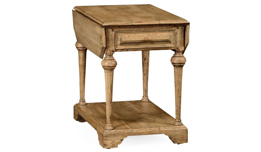 Square & Rectangular Side Tables Elizabethan pembroke oak table.