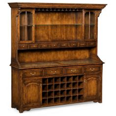 Home Bar Furniture Walnut Drinks Cabinet