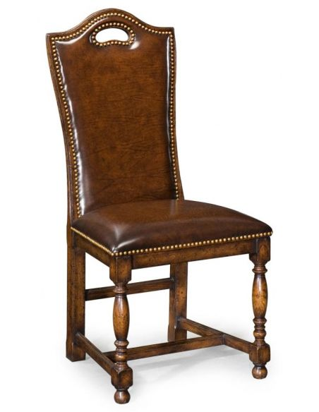 Dining Chairs High End Dinning Room Furniture Tall Side Chair In Oak