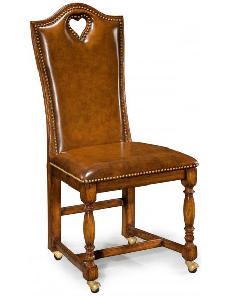 Antique High Back Side Chair-85