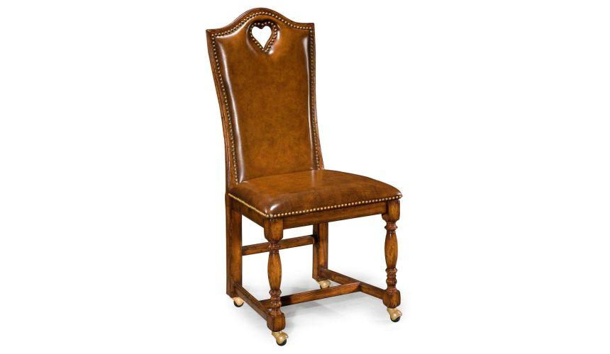 High End game Heart Side Chair