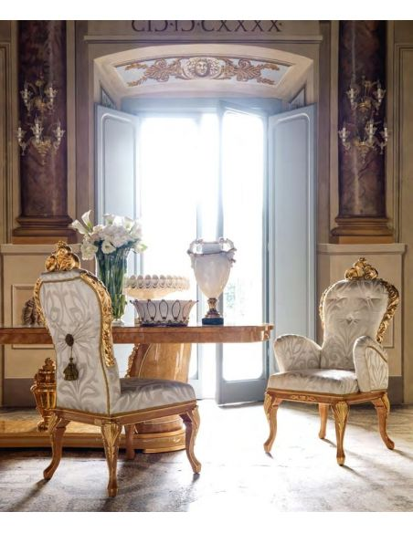 Dining Chairs This classy royal dinning chair epitomizes elegance and functionality