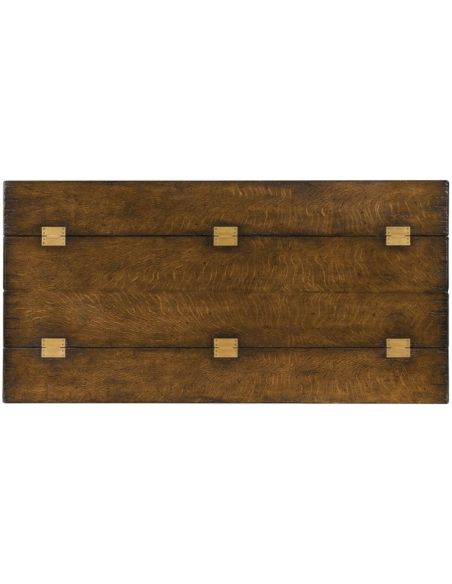 High End Furniture Hunt Table In Oak