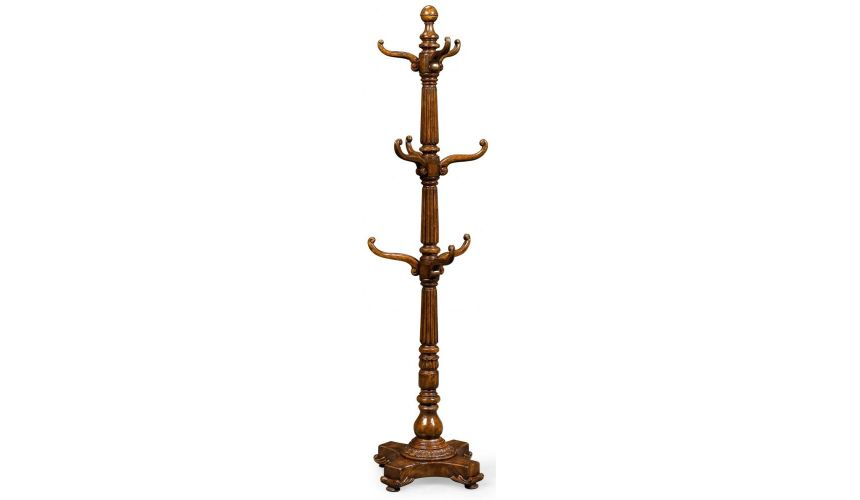 Decorative Accessories Home Accessories luxurious home accents and décor Clothes Hanger in Mahogany