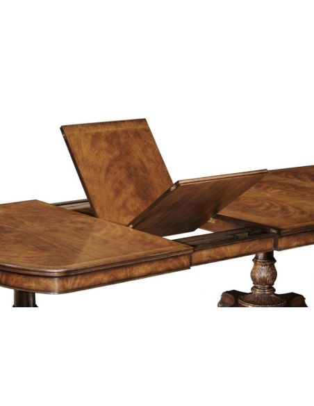 Dining Tables High End Furniture Dining Table In Walnut Veneer