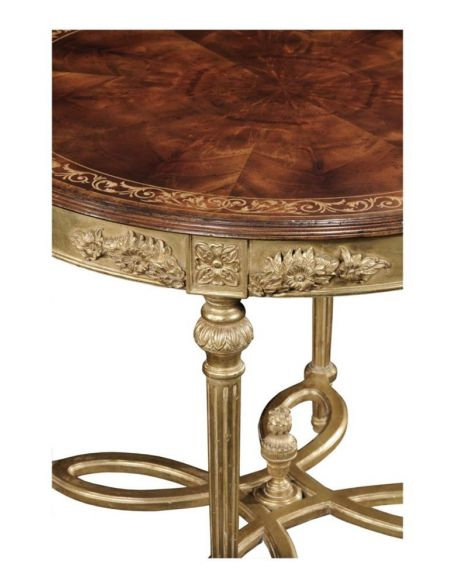 Foyer and Center Tables Luxury Furniture Round Center Table
