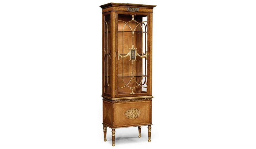 Breakfronts & China Cabinets Fine Furniture Display cabinet