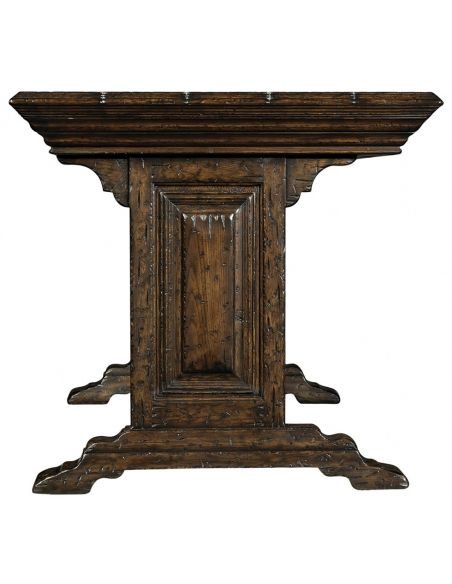 Executive Desks Elizabethan Style Writing Table-89