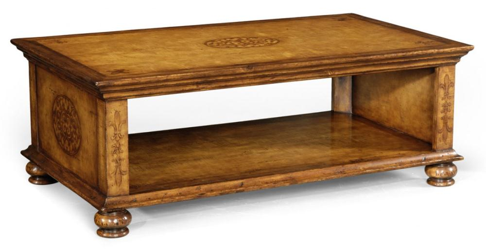 Coffee Tables High End Furniture Rectangular Coffee Table