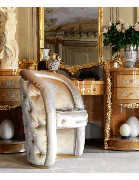 BEDS - Queen, King & California King Sizes Hand-made carvings make this bedroom plush and royal