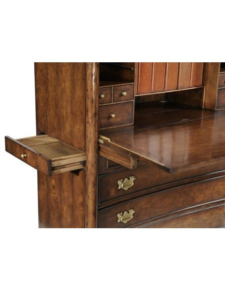 Executive Desks Walnut Home Office Cabinet Home Accessories
