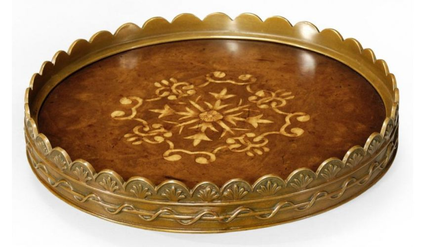 Decorative Accessories Home Accessories luxurious home accents. Round Tray