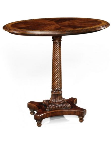 Round & Oval Side Tables High Quality Furniture Luxury Oval Lamp Table