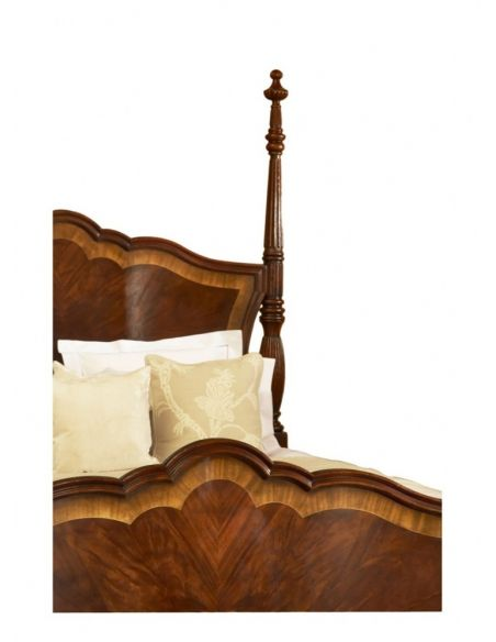 LUXURY BEDROOM FURNITURE Four Post Bed-king Bedroom furniture - luxury bedroom sets
