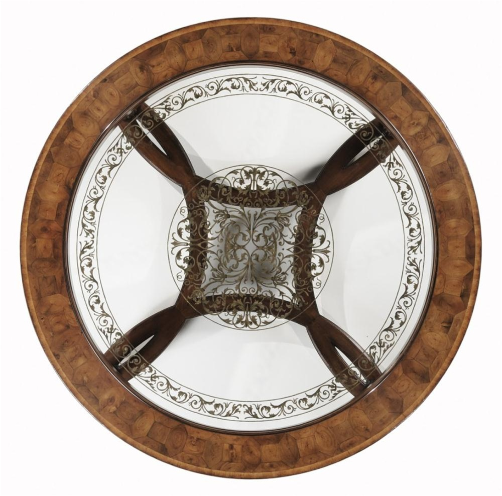 High End Furniture Round & Oval Coffee Table