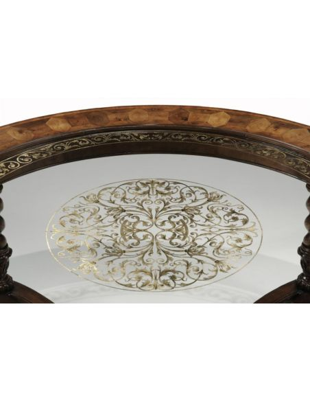 Coffee Tables High End Furniture Round & Oval Coffee Table