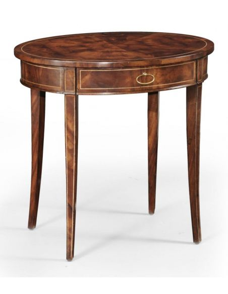 Round & Oval Side Tables High Quality Furniture Oval Side Table