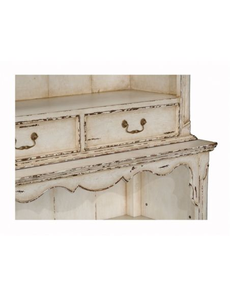 Fine Furniture Display Off White Painted Cabinet