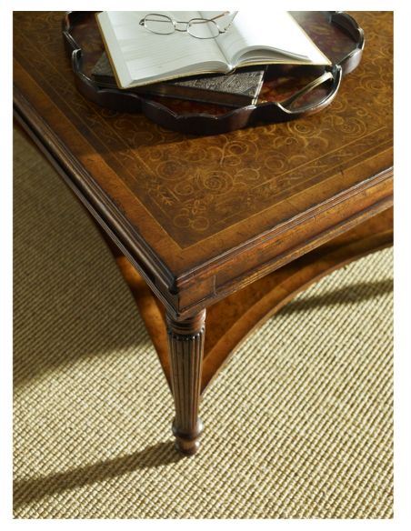Decorative Accessories Decorative Small Walnut Scalloped Tray-62