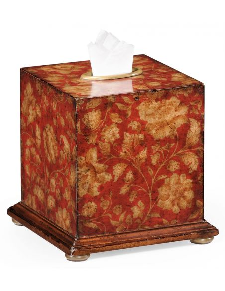 Decorative Accessories Decorative Walnut Tissue Box-68