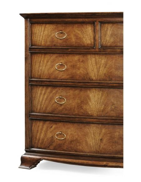 Chest of Drawers Crotch Walnut Chest of Drawers
