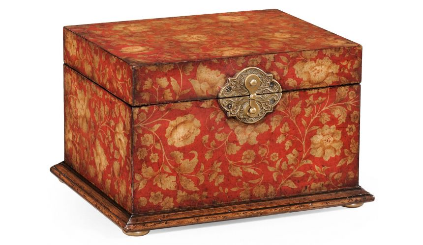 Decorative Accessories Walnut Wood Jewellery Box-88