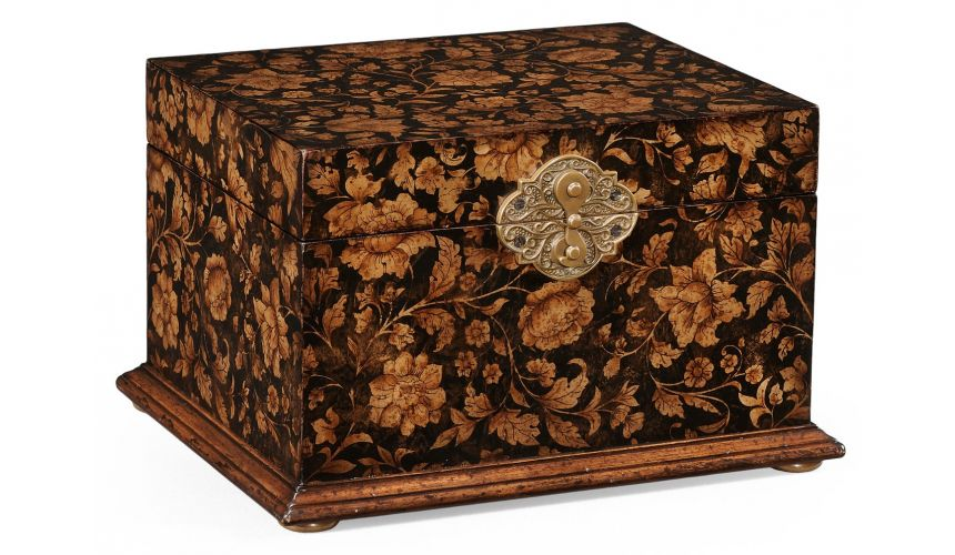 Decorative Accessories Antique Wooden Jewellery Box-89