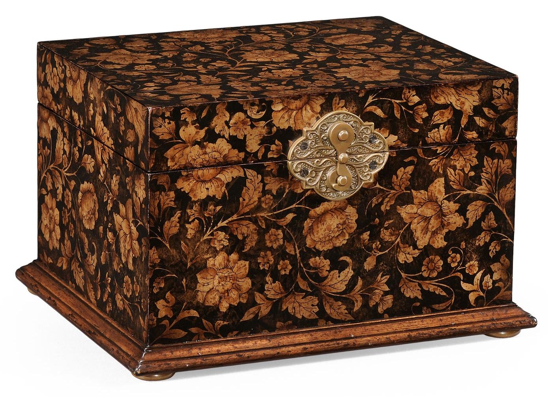 Antique Wooden Jewellery Box89