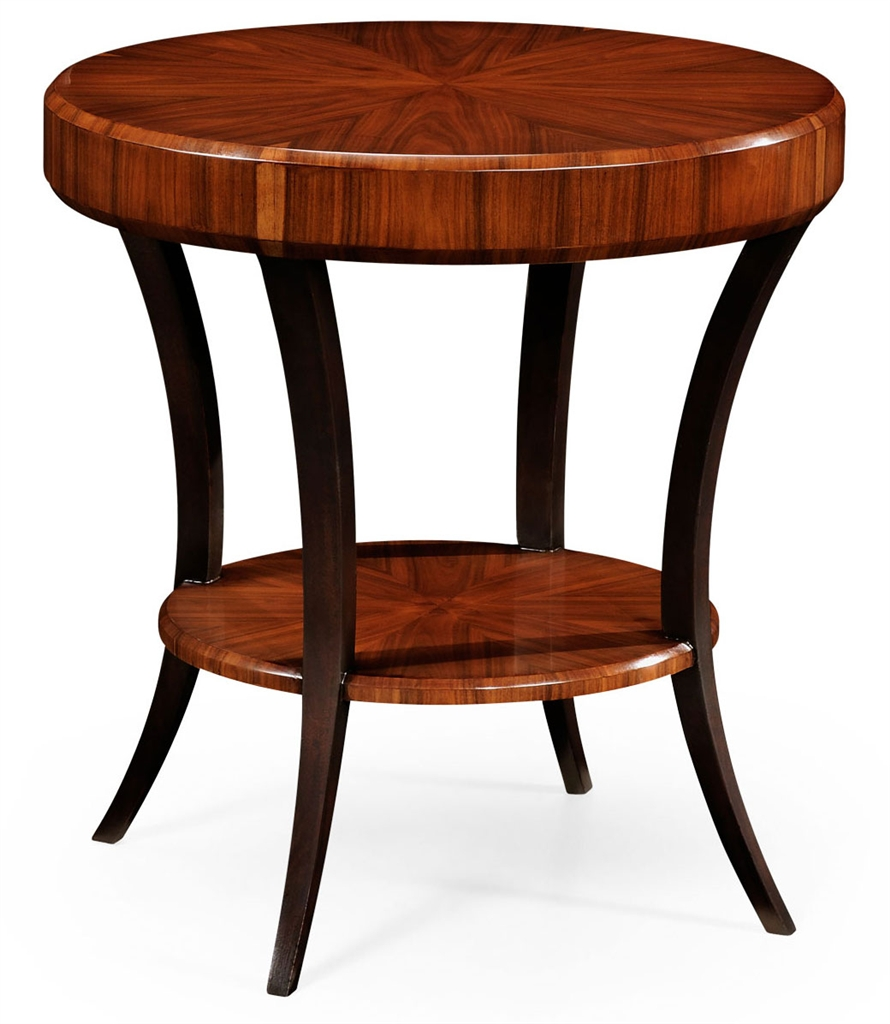 Art deco living room side tables 13 for Round side tables for living room